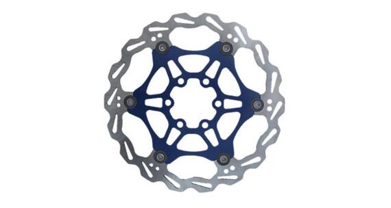 Clarks Lightweight Disc-Rotor 6-Loch blue